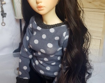 BJD MSD Sweatshirt, Minifee or Unoa, slim MSD cute shirt
