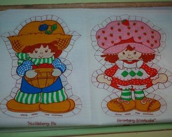 strawberry shortcake panel