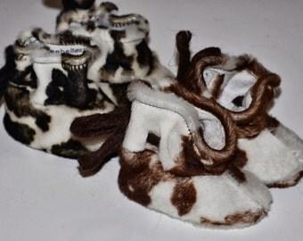 baby slipper made by villa Cathalo