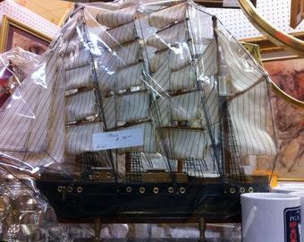Majestic sailing vessel