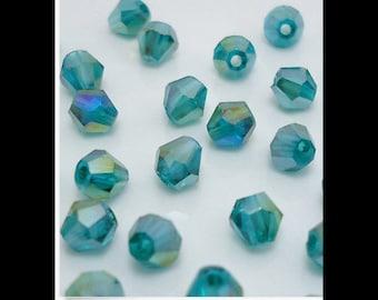 Swarovski Crystal Bicone Beads 100pcs 4mm    C22