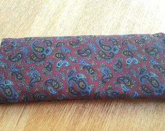 Organic Lavender and Flaxseed Eye Pillow - Perfect for relaxing, relieving stress and Yoga Savasana