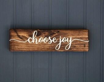 """Shop """"choose joy"""" in Home & Living"""