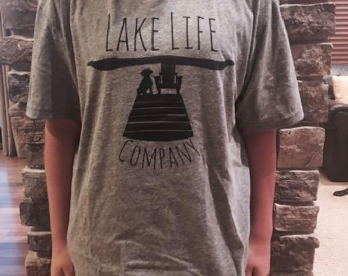SALE! Men's Lake Life Tee: Lake Life Company Apparel