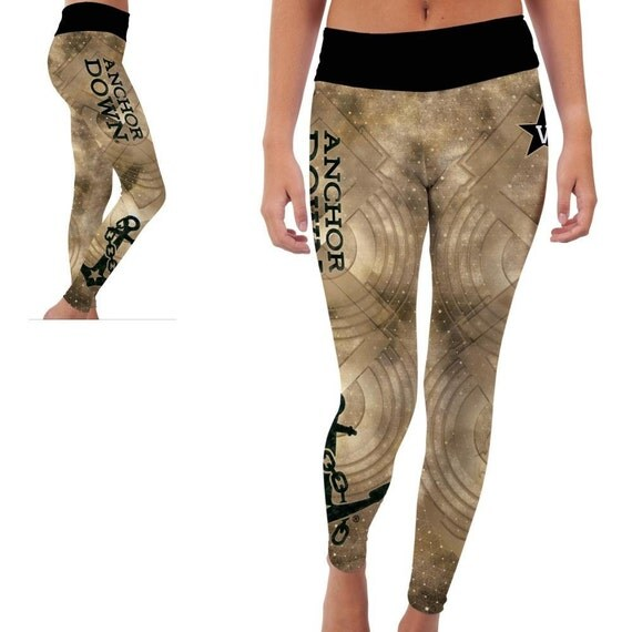Vanderbilt University Commodores Yoga Pants Designs