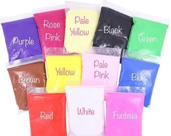 15% OFF SALE - 15g Bag Air Dry Paper Modelling Clay - DIY Craft Supplies Non-Toxic Lightweight