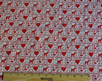 CLIFFORD The Big Red Dog FABRIC! 1/2 Yard For Quilting