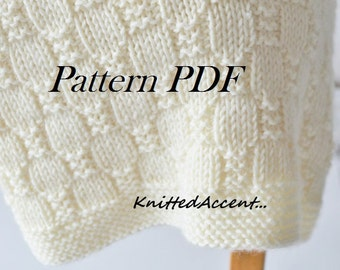 PATTERN Knit patterns/blanket handmade/baby blanket/knit baby blanket/wool baby blanket/pattern blanket/knit baby patterns/blanket