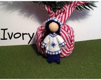 Little Sister Ivory - Pocket Doll - Bendy Doll