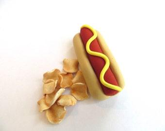 Hot Dog & Chips – American Girl Doll Dinner