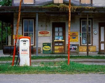 Adirondack Gas Station
