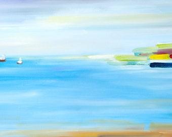 Seascape- Original Art Oil on Canvas Painting
