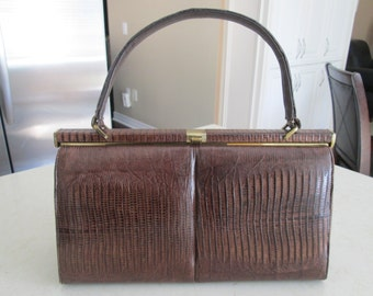 Vintage Brown Purse