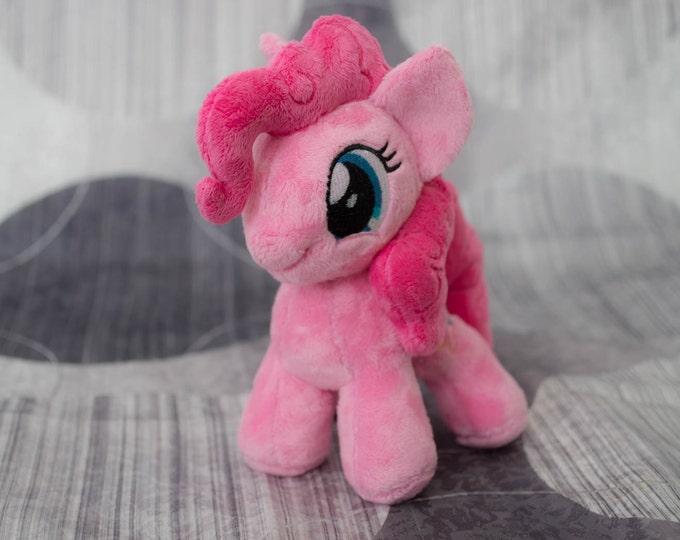 Plush Pinkie Pie Custom Chibi Pony 8 inches My Little Pony Toy