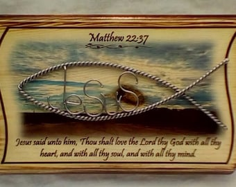 Bible verse plaque Matthew 23:37