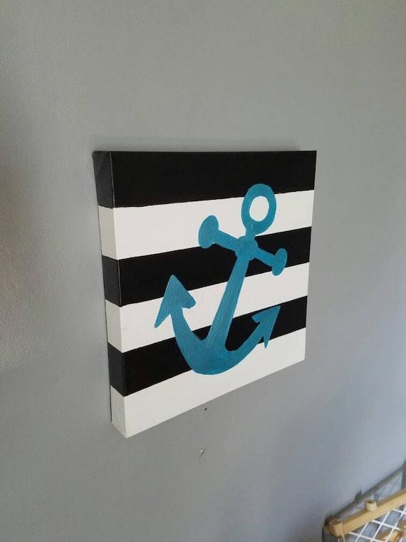 Items Similar To Nautical Home Decor Anchor Decor - cheap home decor for nautical nursery