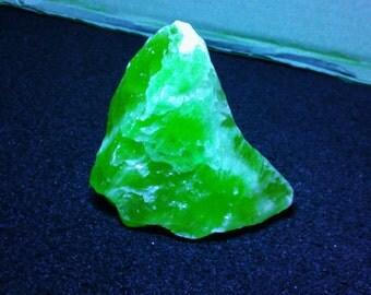 Fluorescent orange calcite of the Mexico