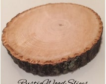 40 wood rounds! Great for DIY projects, arts, and crafts! Wood slices!