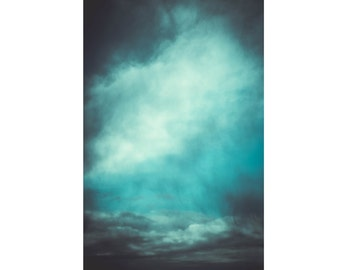 Sky Digital Photo - Sky Photo Print - Cloud Photo - Blue - Vertical Photo - Digital Photo - Digital Download - Instant Download - Wall Decor