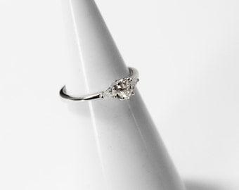 Ring Diamond White 750 gold