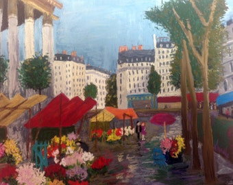 Floral City (after Le Madeline)
