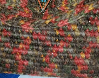 OOAK crochet bag