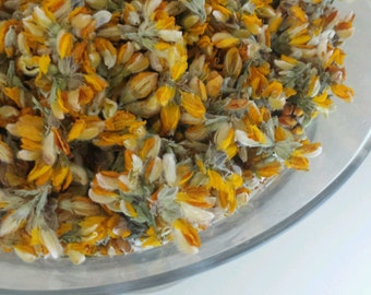 100% WILD HARVESTED & ORGANIC Carqueja flowers gorse Loose herbal Tea  direct from Portugal