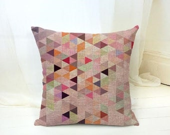 Pixelated Pastel Cushion Cover