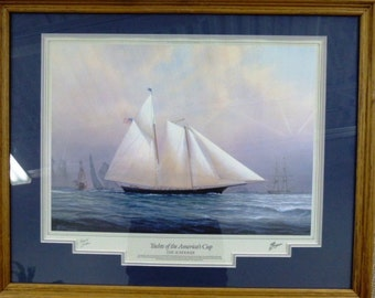 The Schooner - Yachts of The American Cup by Tim Tompson