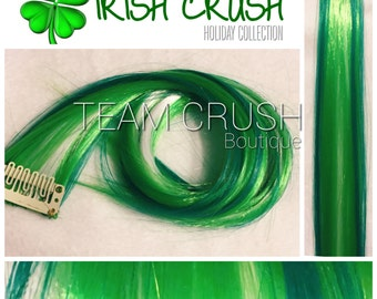 """IRISH CRUSH 18"""" Clip In Colored Hair Extension Set - 4 PIECES!"""