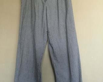 Vintage 80's-90's Checkered Pants