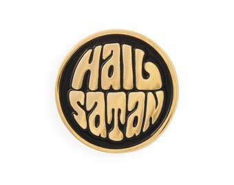 HAIL SATAN - Lapel Pin