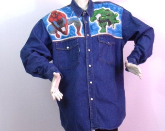 Long shirt Customs4U Marvel Super Hero Brand Scott Dixon