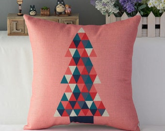 Christmas Tree Modern Pillow Case