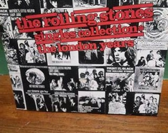 The Rolling Stones: Singles Collection the London years book!