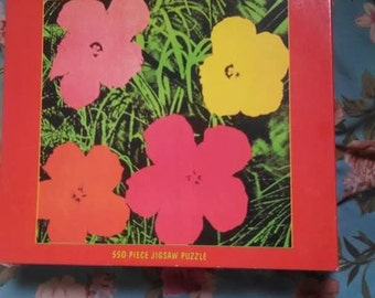 Andy Warhol Flowers Puzzle!