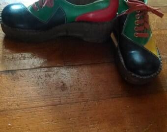 Vintage Platform Oxford Shoes!