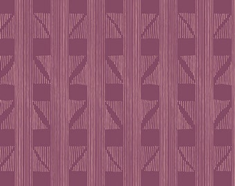 Expanded Aim Violet - Fleet & Flourish - HALF YARD - Art Gallery Fabric - Cotton Fabric - Quilting Fabric