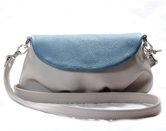 Tefia J Leather Womens Shoulder Bag, Crossbody Bag
