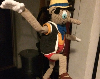 Pinocchio - Langnæsen   ( Danish chrochet patternt )