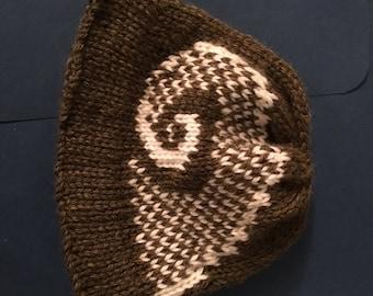 Baby's Rams Horn Hat