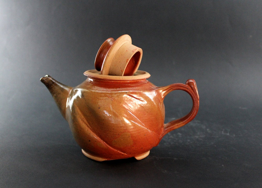 Large Pottery Teapot Ceramic Handmade Teapot Teapot And
