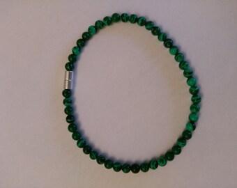 Magnetic Malachite Bracelet