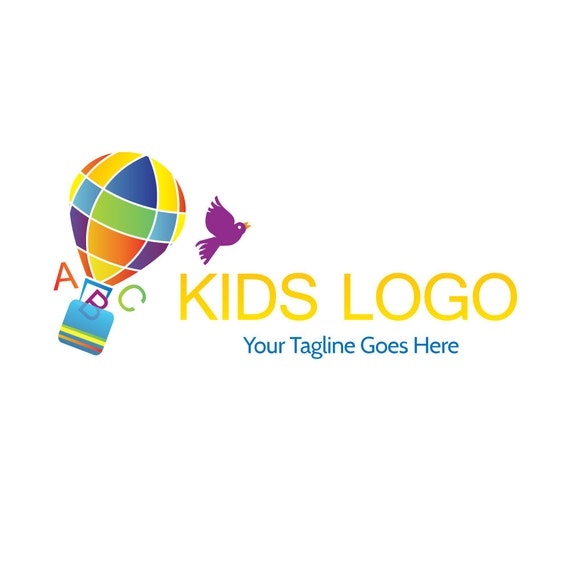 Toy Store Logo : Childrens logo toy shop educational