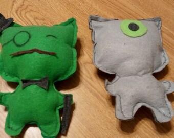 Stuffed Monster Doll