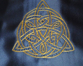 Pagan / Wicca Embroidered Altar / Table Cloth