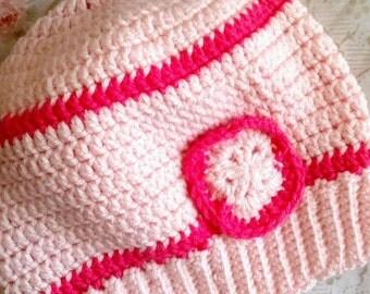 Surely Inspired Sakura Slouchy Hat