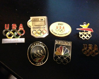 Olympic pin lot