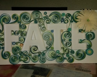 FATE - plate Quilling