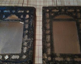 Old, antique handmade mirrors